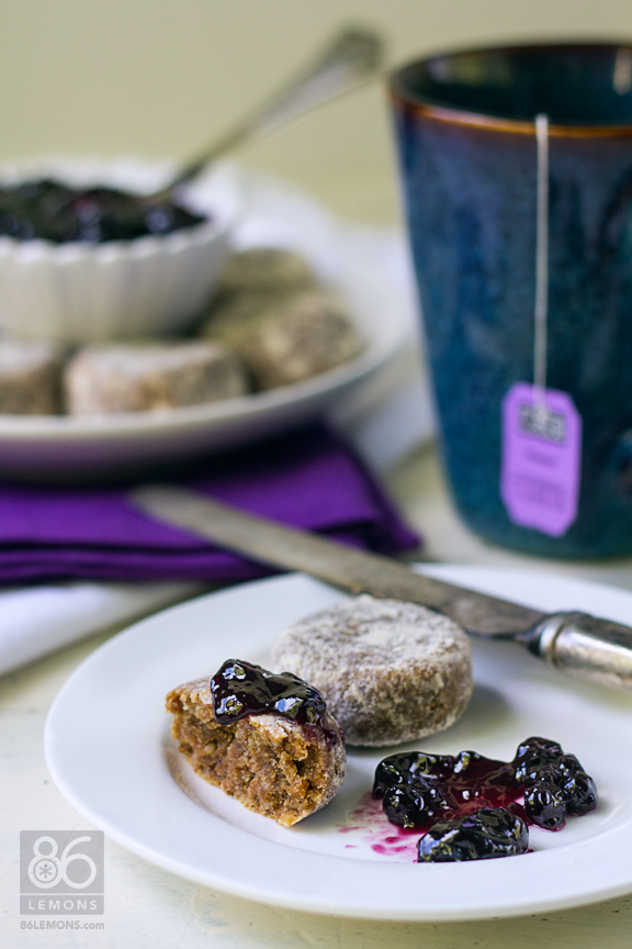 Russian Tea Cakes #vegan #glutenfree #raw #dessert #sweet #recipe