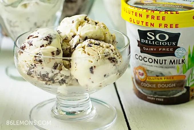 So Delicious Coconut Milk Frozen Dessert #vegan #glutenfree #dairyfree #icecream