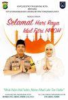 Kapolres Dan Ketua Bhayangkari Restro Tangerang Kota Mengucapkan