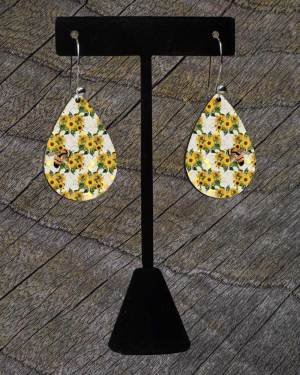 teardrop bee earings