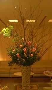 寒桜のアレンジ