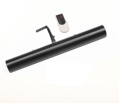 picture light battery operated black finish