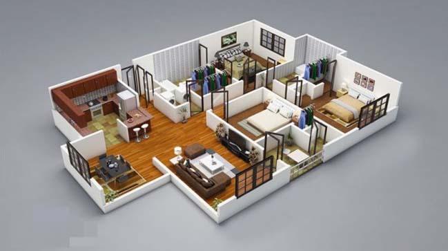 Small Kitchen Design 8x8