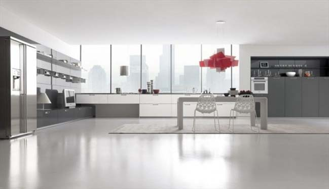 Minimalist Kitchen Designs By Comprex