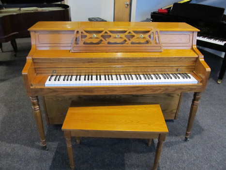 SOLD… 1992 Kawai Model 502-M Console Piano