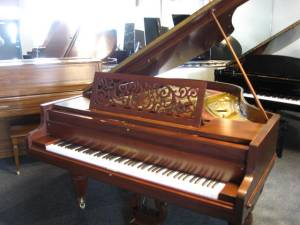 19th Century Americana Chickering Grand Piano