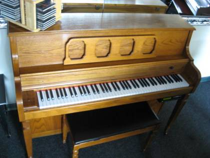 Kimball Console Disk-player Piano