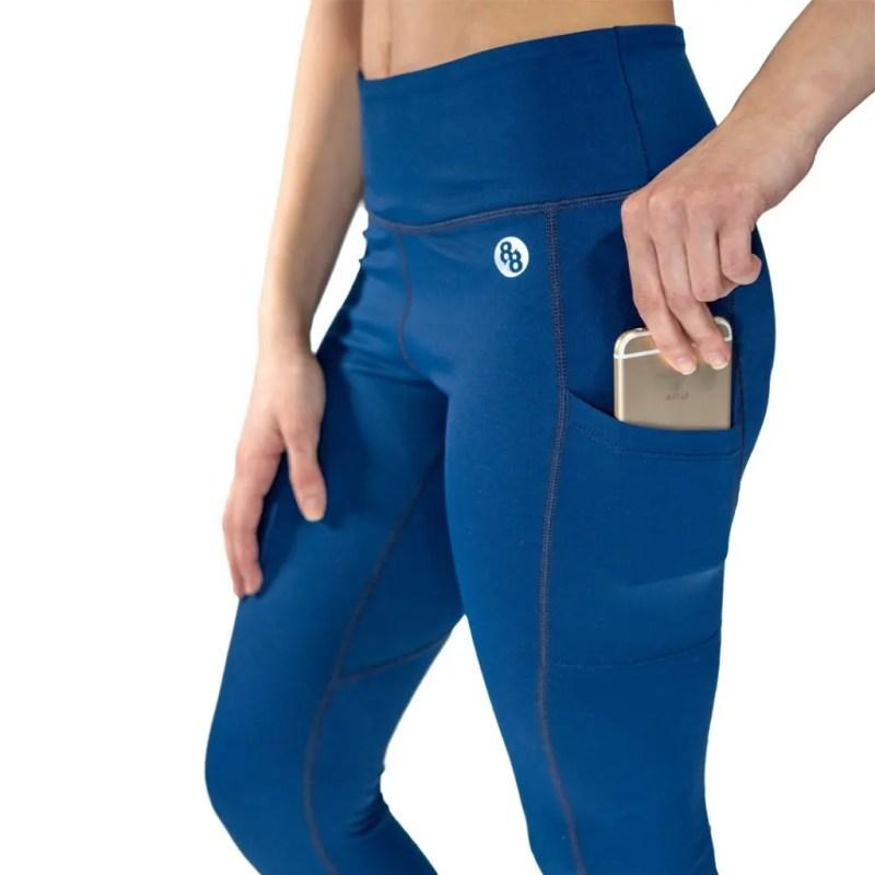88Ronin Apparel Co. Release Edition pocketed leggings, Full length.