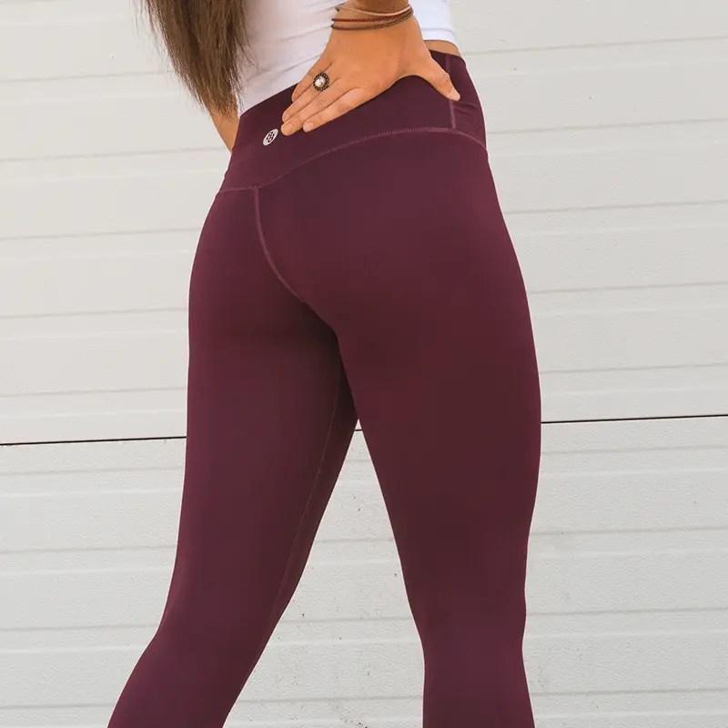 explore leggings bordeaux back 2