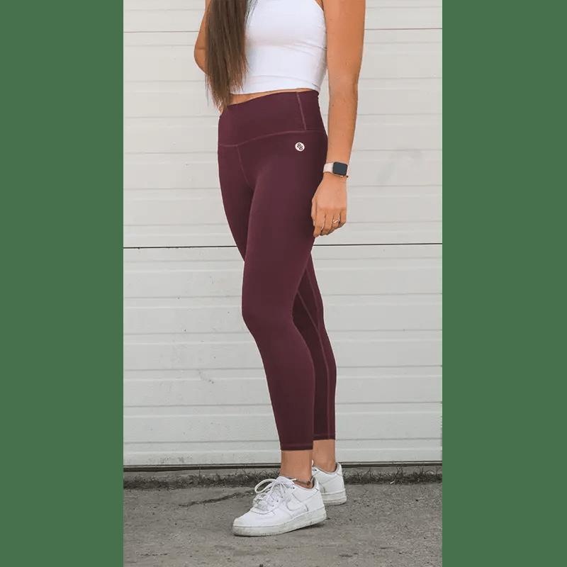 explore leggings bordeaux front 2