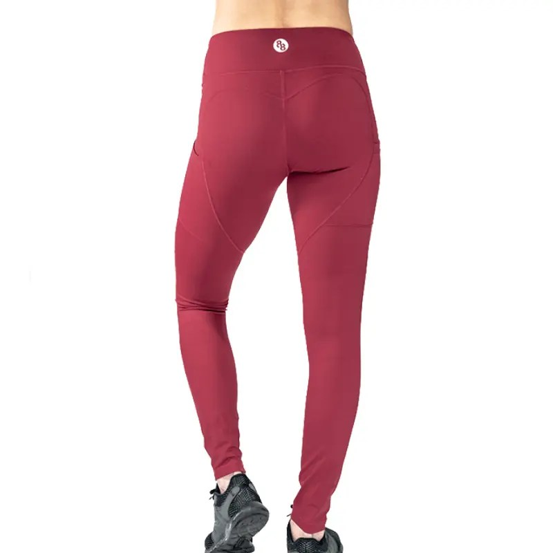 Release Edition Red leggings back