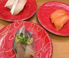 池袋JK制服キャバクラ【はちみつくろーばー】かの 一人回転寿司