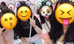 池袋JK制服キャバクラ【はちみつくろーばー】きり 友達と買い物