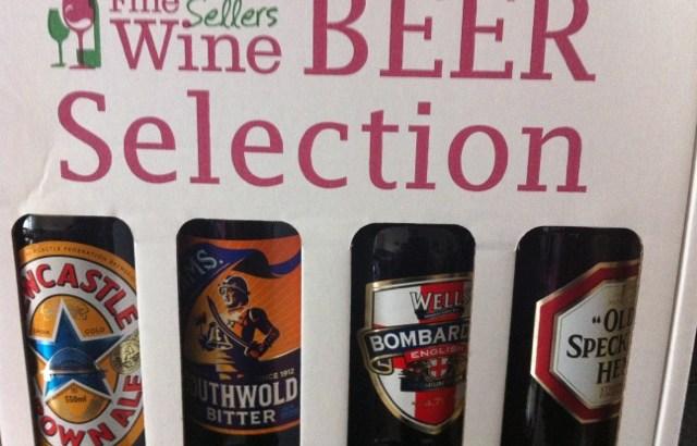 I do so enjoy a good beer selection