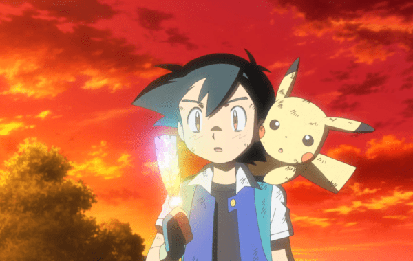 Pokémon the Movie: I Choose You! - Ash and Pikachu