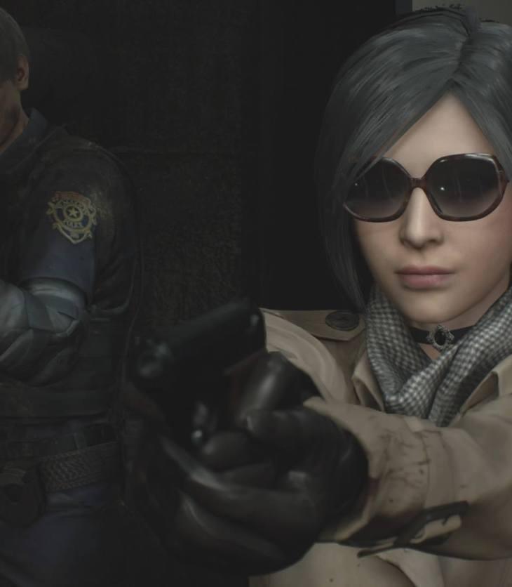 Leon Ada Resident Evil 2 remake 8Bit/Digi