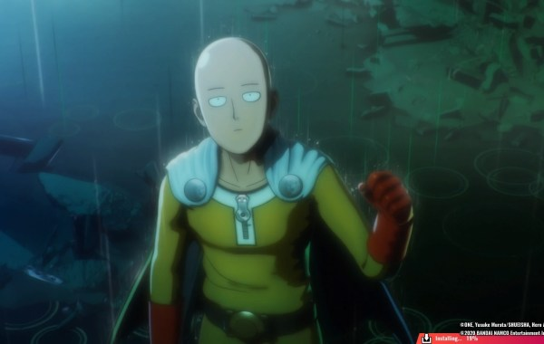 One Punch Man video game 8Bit/Digi