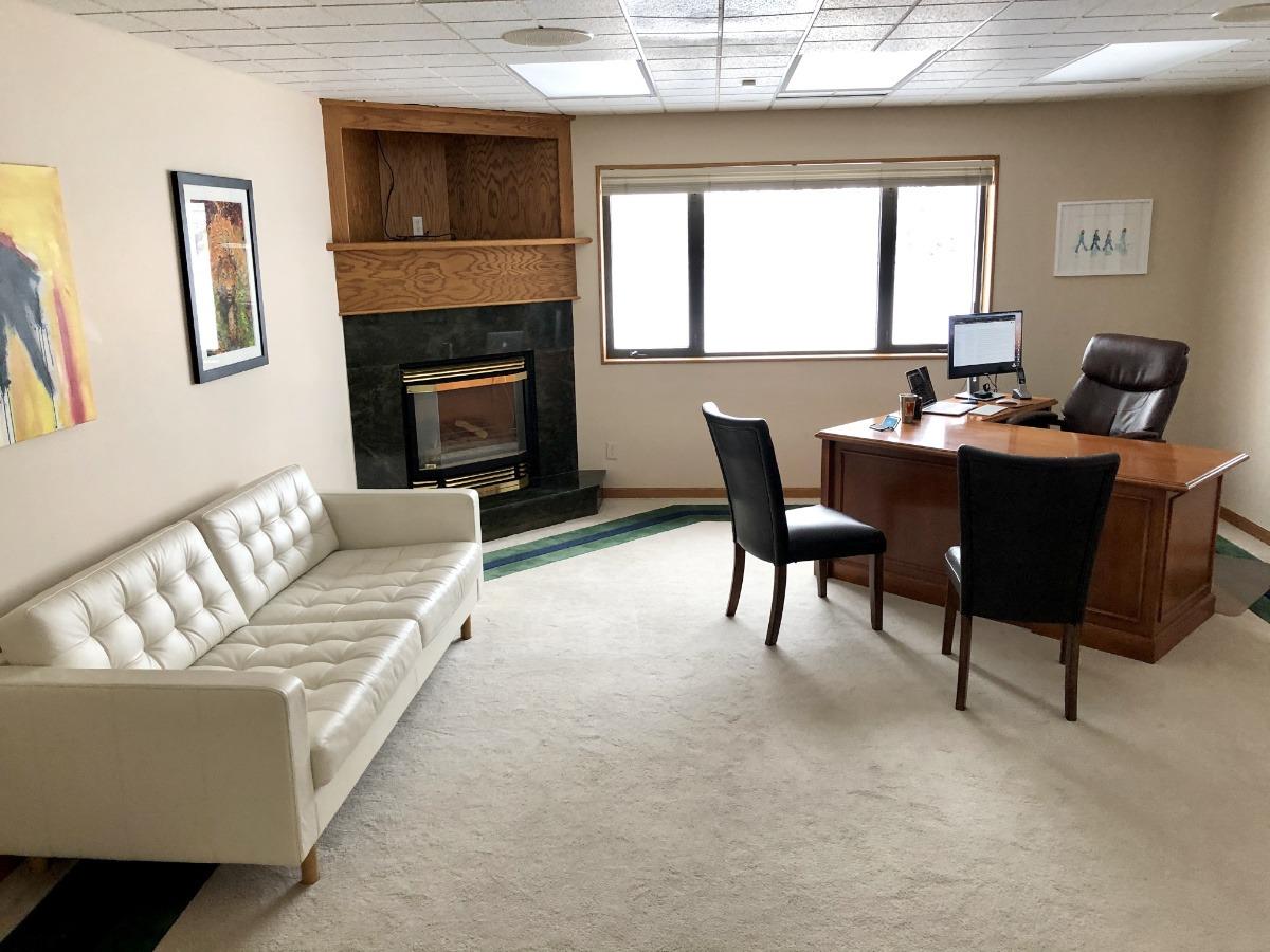 Matthew's new office