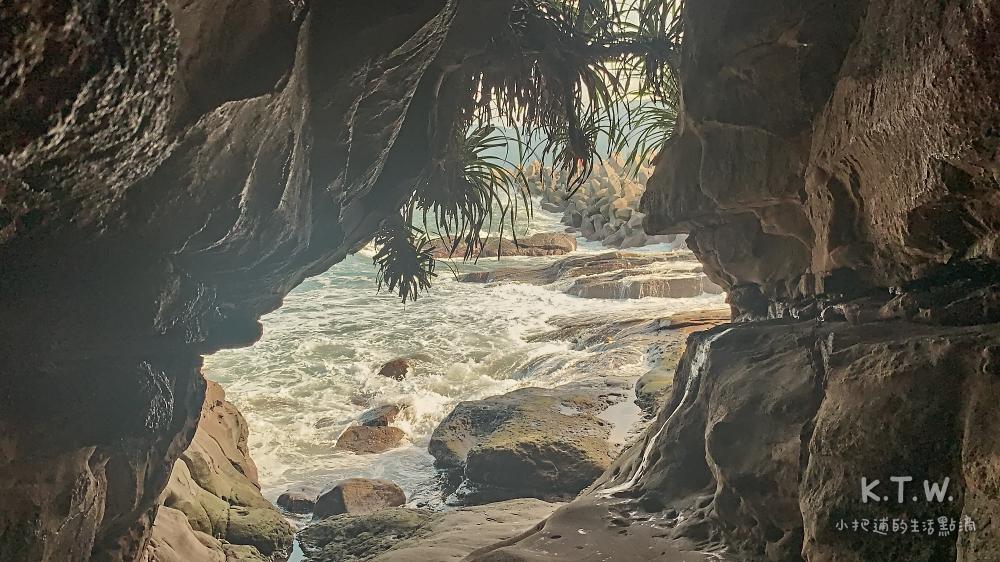 金山水尾漁港神祕海岸