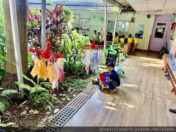 北大幼兒園走廊環境