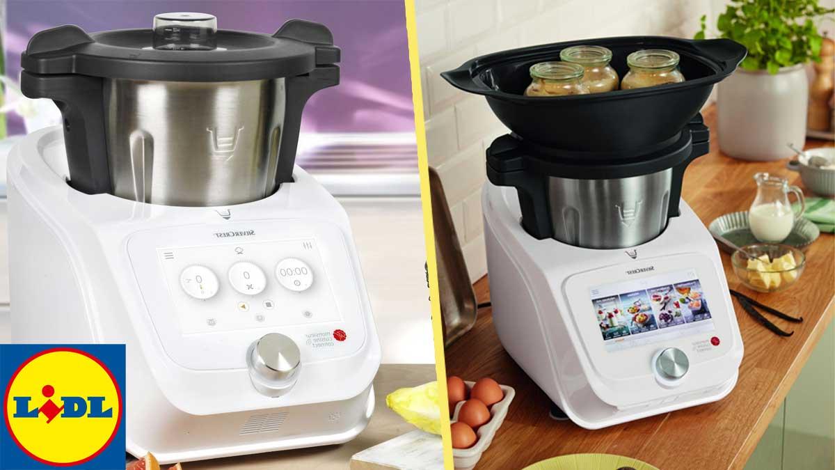 le robot cuiseur monsieur cuisine