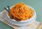 Морковный салат с тыквой