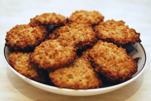 Овсяное печенье «Ёжик»