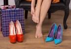 Высокий каблук и его отсутствие опасны для здоровья