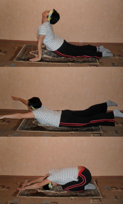 комплекс упражнений для позвоночника2