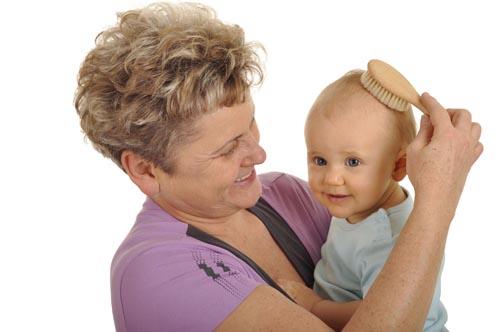 Рост волос у детей