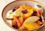 Фруктовый салат из апельсинов и груш