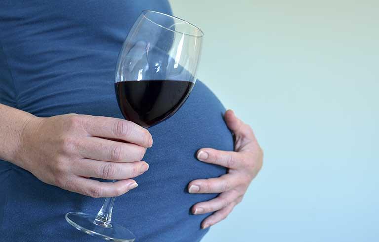 Влияние алкоголя при беременности