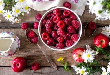 Малина: рецепты для здоровья