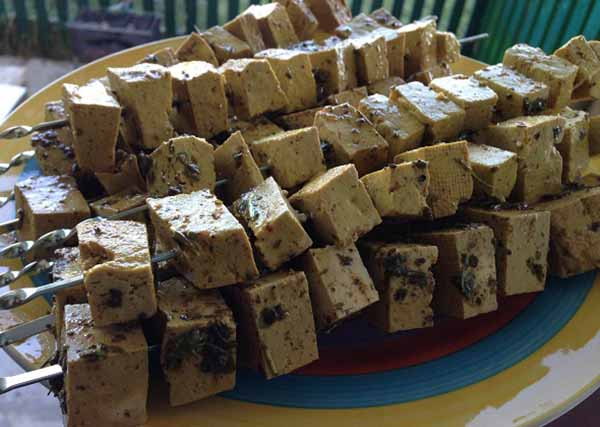 Шашлыки из тофу