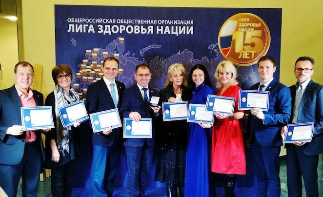 Представители адвентистской церкви получили благодарственные письма за содействие оздоровлению россиян