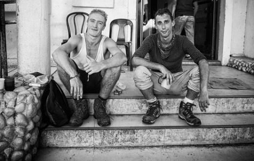Baudouin, 21 ans et Quentin, 29 ans.