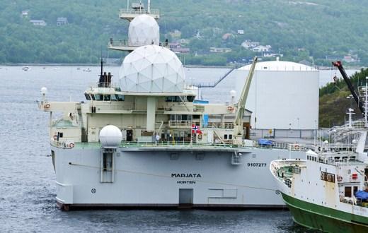 Le F/S Marjata, navire norvégien (Photo Flickr/Harvey Barrison)