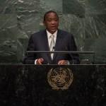 Uhuru Kenyatta, président de la République du Kenya à la 70e assemblée générale de l'ONU. (photo flickr/ United Nations Photo)