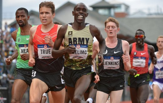 (Photo Flickr/Army Recruiting/ Paul Chelimo/ L'un des quatre athlètes d'origine kényane à avoir rejoint l'US. Army et qui participera aux Jeux olympiques sous bannière américaine)