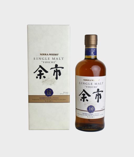 Nikka Yoichi 10Y Whisky 日本余市10年威士忌