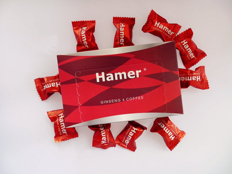 Hamer Ginseng coffee candy 汗馬精力人參糖