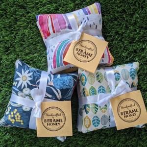 Lavender bags made by 8 Frame Honey