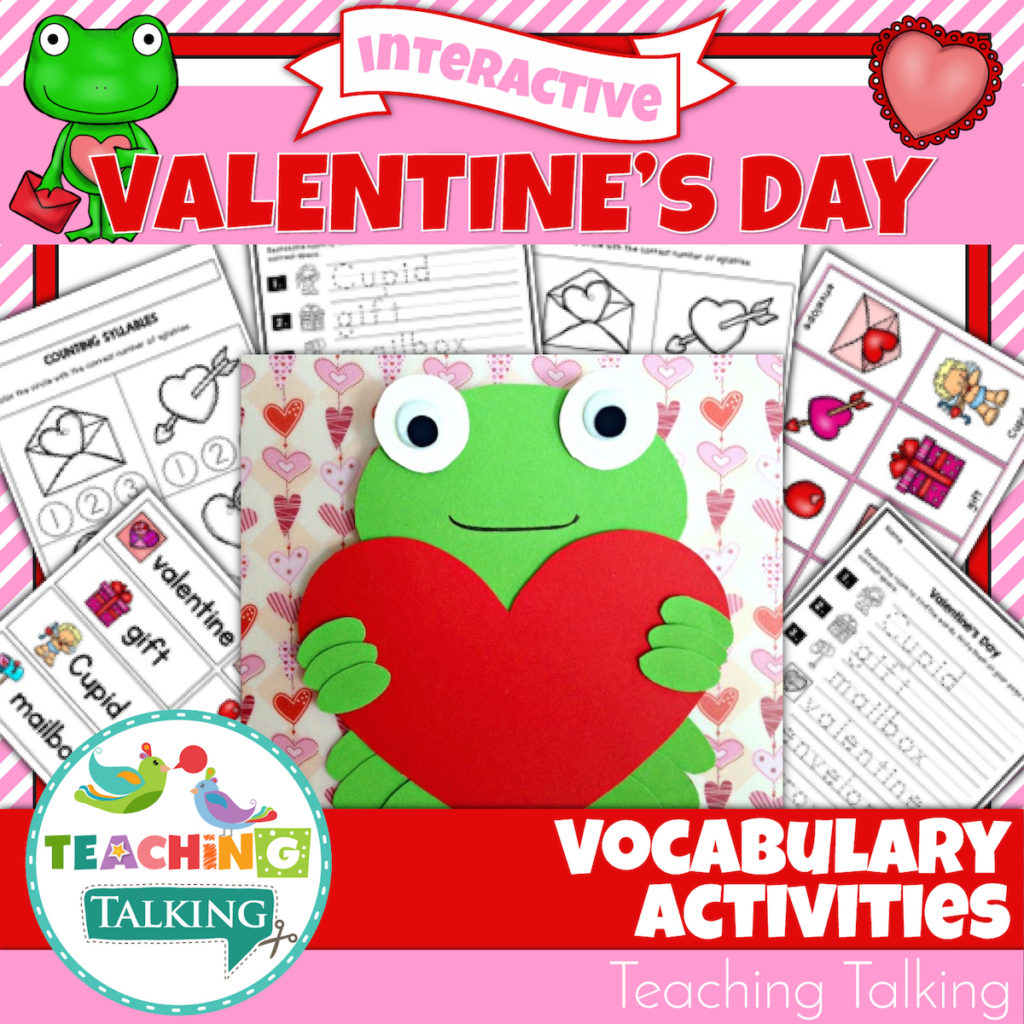 Spread The Love With Valentine S Vocabulary Activities