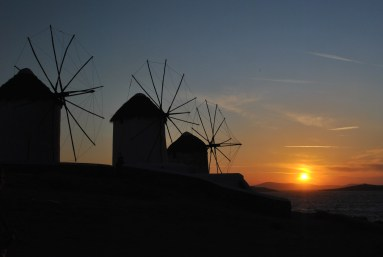 WINDMILL SILHOUETTES