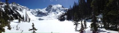 Mattier glacier and the 3rd lake