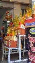 Gifts for monks - Chiangmai Chang Kian