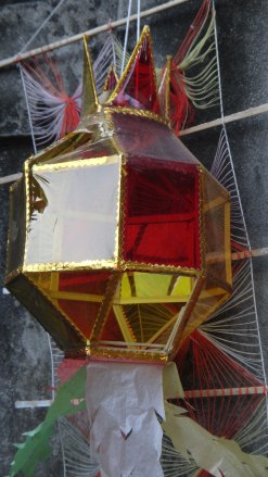 lantern that the sun shows through