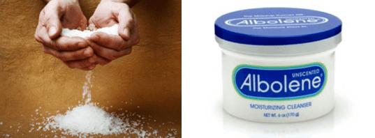 Epsom Salts and Albolene - Cutting Weight