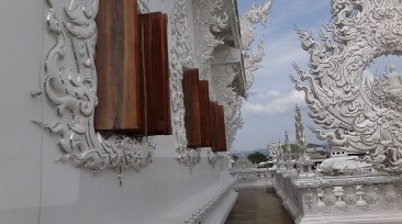 Temple Shutters - Wat Rong Khun The White Temple