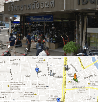 Where to Buy DoT Approved Motorcycle Helmets in Chiang Mai